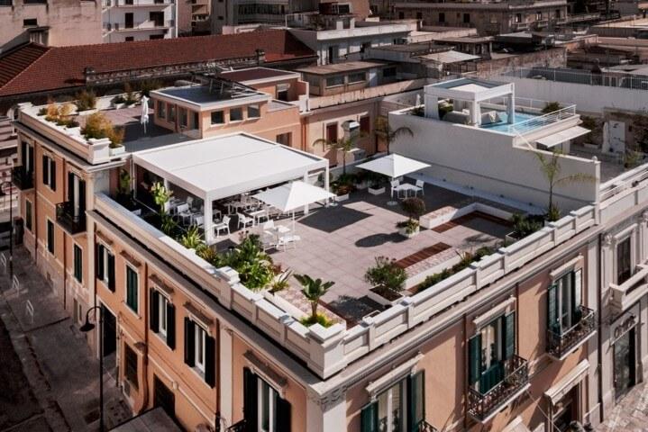 Hotel Medinblu Suite 2 dettaglio primo piano terrazzo