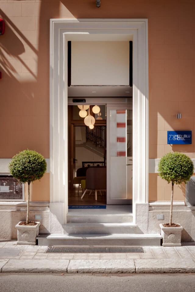 Hotel Medinblu entrata